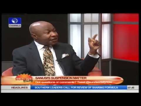 Legal Practitioner Explains CBN Act That Empowers Jonathan To Suspend Sanusi