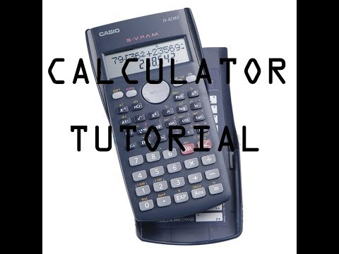 Calculating Mean, Standard Deviation And Variance Using Casio FX-82MS Calculator