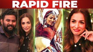 Chaiyya Chaiyya Malaika Arora's Fun Interview with VJ Ashiq | Funny Rapid Fire