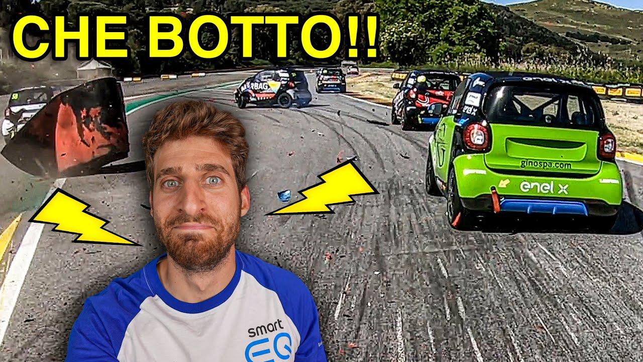 LA MIA PRIMA FOLLE GARA SU UNA SMART ELETTRICA - Racing is Life Smart 2021 - EP.1