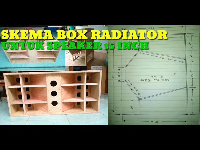 SKEMA BOX RADIATOR 15 INCH