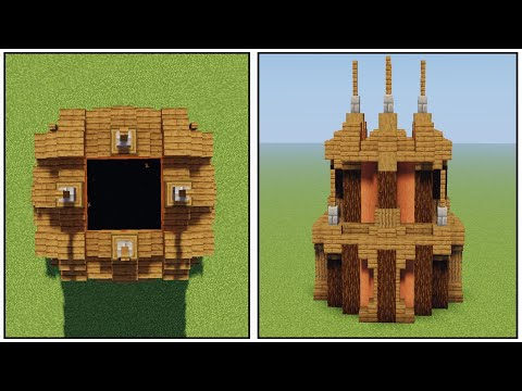 Minecraft: How to Build (The Best Ender Portal design) [ Tutorial ] thumbnail