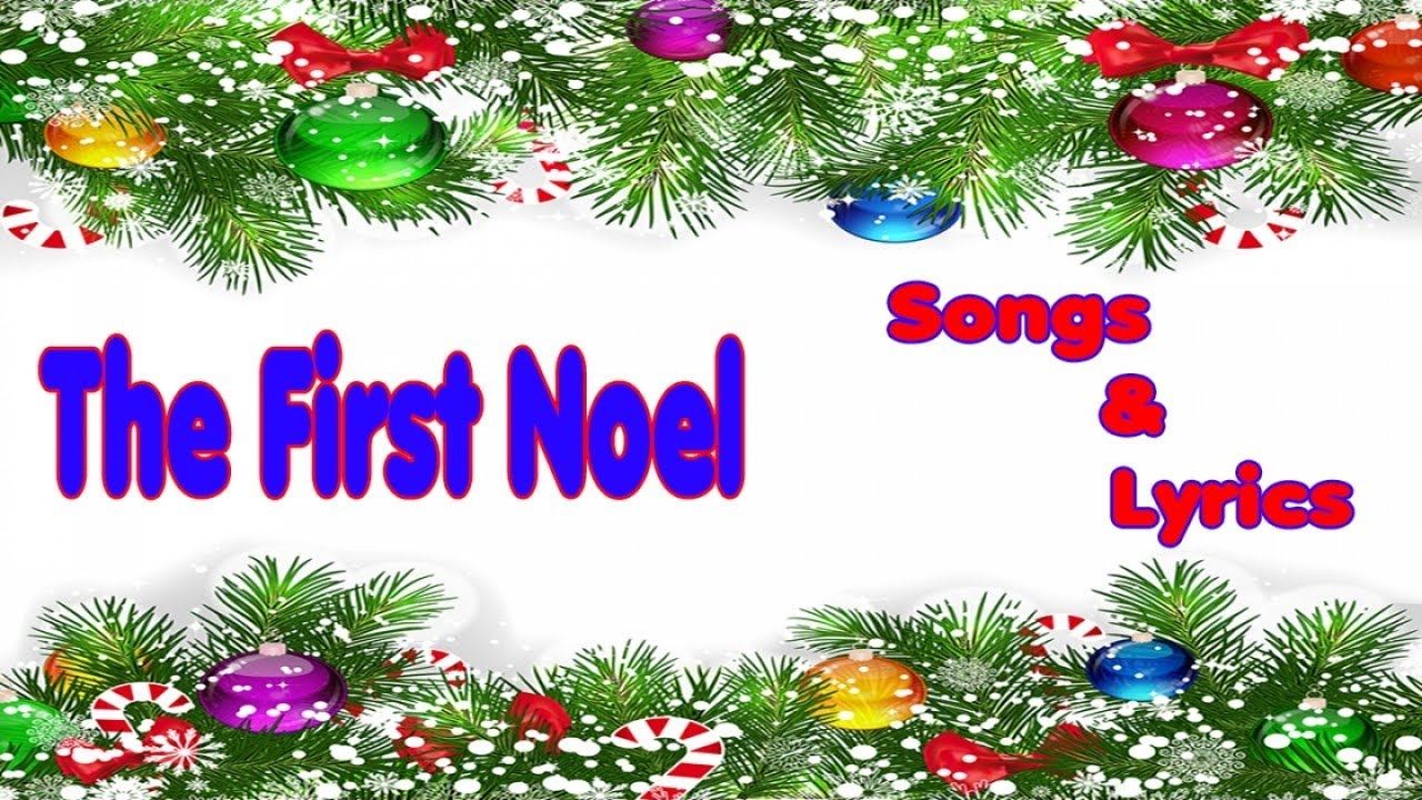 IT\'S KIDS ZONE: Christmas Songs - THE FIRST NOEL - Christmas Song ...