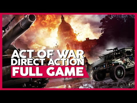 Act Of War: Direct Action | Full Gameplay/Playthrough | PC 60fps | No Commentary