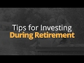 Tips for When You Start Investing After Retirement   Phil Town
