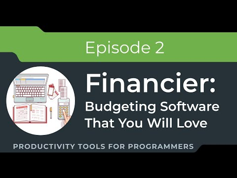 Financier: (Really) Straight-forward personal budgeting software