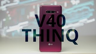 LG V40 ThinQ review: a solid smartphone, but is that enough?