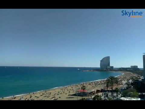 Live Webcam Barcelona - Time Lapse