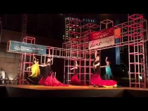 Rose Borrromeo Spanish Dance Company (Flamenco Fandango ~ at Esplanade