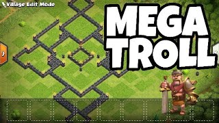 Mega Th 9  troll base which cannot be defeated100% working