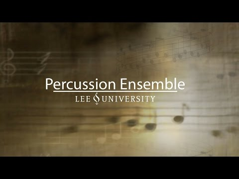 Percussion Ensemble Concert, October 30, 2016