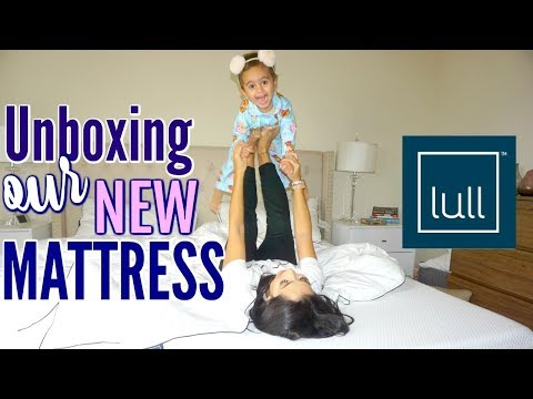 UNBOXING OUR NEW BED | LULL REVIEW & NEW BEGINNINGS | XoJuliana