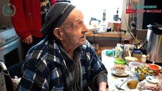 Ветеран ВОВ Шарип Курбангалеев встретил 100-летний юбилей