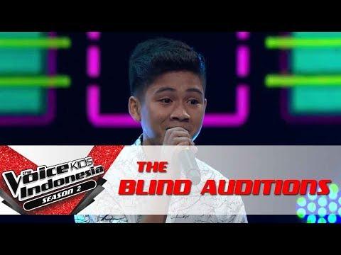 Erwyn Surat Cinta Untuk Starla  The Blind Auditions  The Voice Kids Indonesia Season 2 GTV 2017