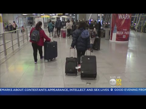Holiday Travel Trouble At JFK