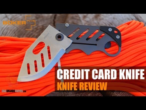 Boker Plus Credit Card Knife Review | OsoGrandeKnives