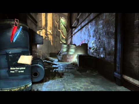 "Dishonored: Brigmore Witches - Draper's Ward Textile Mill: Assassin Chat ""Make a Deal"" Combat PS3"
