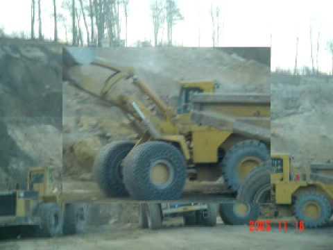 Describe strip mining