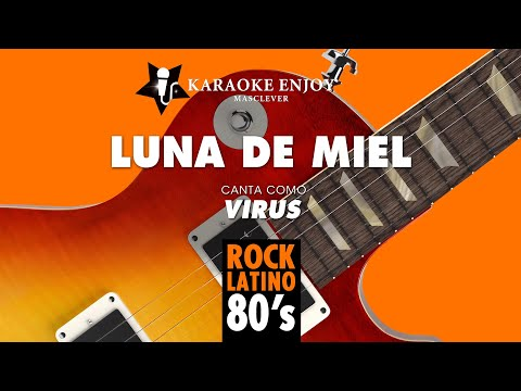 Luna de miel - Virus (Version Karaoke con letra pintada).mpg