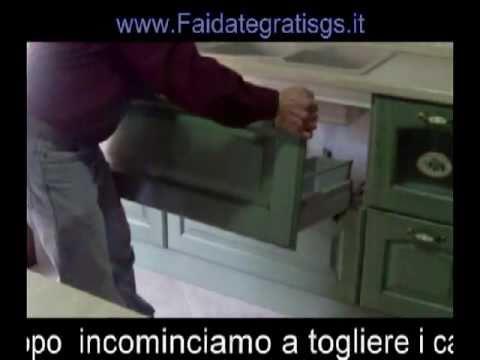 Come installare un miscelatore del lavello con la presa