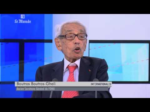 Boutros Boutros-Ghali dans Internationales - Emission du 31 mai 2015