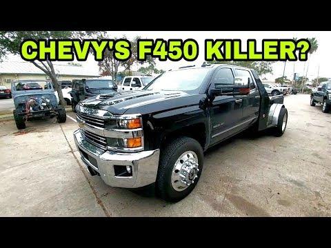 F450 killer? 2018 Chevy Hauler 3500HD Dually