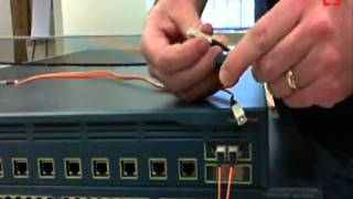 How to Cross Over Fiber Cables