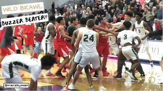 Tre Mann game ENDS With a BUZZER BEATER & WILD BRAWL!!! 😱😱😱