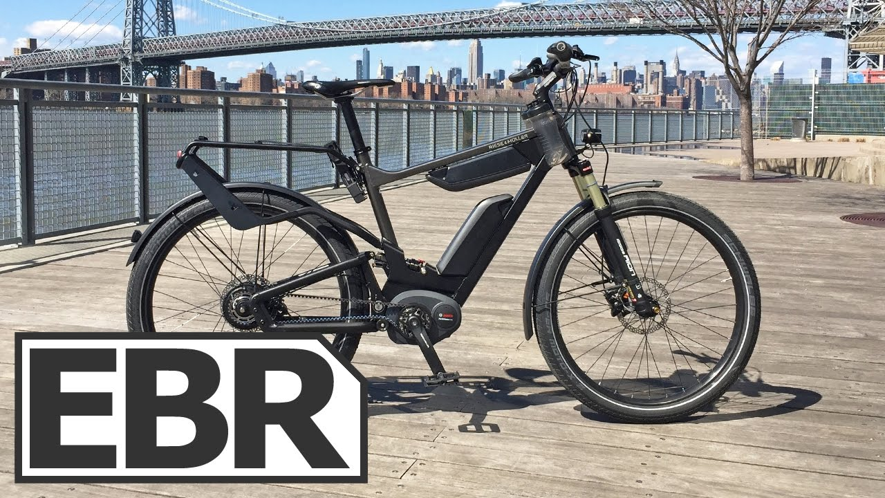 526e69ac458 Riese & Müller Delite GT NuVinci HS Video Review - High Speed, Full  Suspension, Bosch