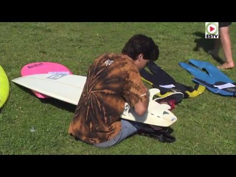 Anglet: Brocante Surf 2015 Surfrider Foundation -  Euskadi Surf TV