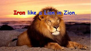 Iron like a lion in  Zion - Karaoke music