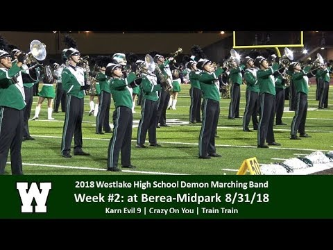8.31.18 - at Berea-Midpark - Westlake High School Demon Marching Band