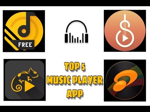TOP 5 BEST🎶 MUSIC PLAYER🎶 APPLICATION  OF 2017 MUST WATCH