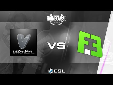 Rainbow Six Pro League - Season 1 - PC - NA - Vertical Gaming vs FlipSid3 Tactics