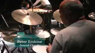 TAMA Sound Check on Stage_Peter Erskine @ Blue Note Tokyo