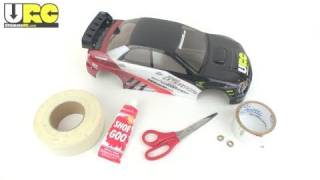 RC How-To: Repair and/or reinforce a Lexan body