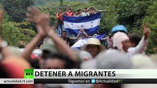México y Guatemala detendrían a migrantes de Honduras rumbo a EE.UU.