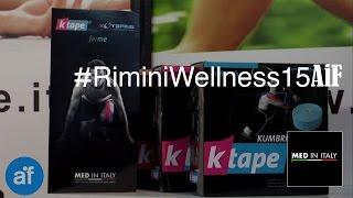 Cerotti muscolari per sportivi - MED IN ITALY(In occasione di Rimini Wellness 2015 Med.inItaly propone in esclusiva, KTape gli speciali cerotti muscolari colorati per sportivi e riabilitazione., 2015-06-12T09:53:17.000Z)