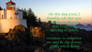 My Birthday Prayer
