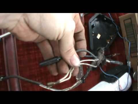 repair burned wiring in '84 dodge d150 part 1