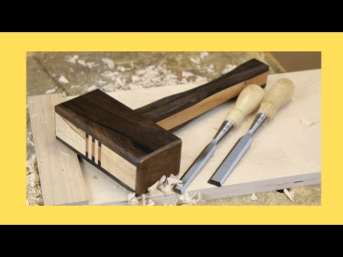 Easy To Build Woodworking Assembly Mallet