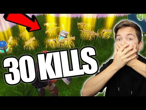 *NEW* LEGENDARY ONLY GAME MODE!! 30 KILLS!! FORTNITE: BATTLE ROYALE SOLID GOLD & JETPACK MODE