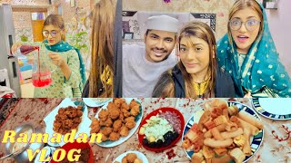 My First Day Of Ramadan | Iftaar Routine | SAMREEN ALI VLOGS