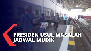 Gambar cover Presiden Jokowi Usul Jadwal Mudik akan Diganti Setelah Lebaran