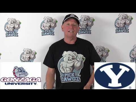 Gonzaga vs BYU 2/22/20 Free College Basketball Pick and Prediction CBB Betting Tips