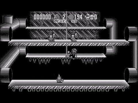 Beating level 99 in Mario Clash (Virtual Boy)
