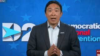 "Andrew Yang makes an appeal to 2016 Trump voters at DNC: ""I get it"""