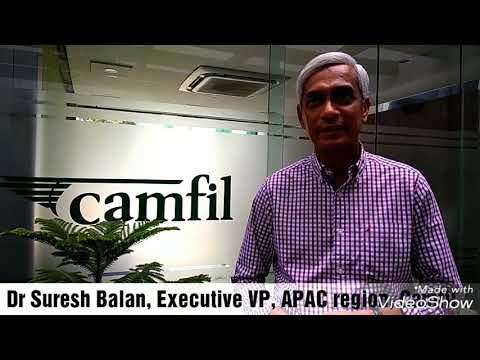 Suresh Balan, Executive Vice President, Asia Pacific Region, Camfil