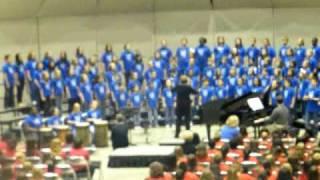 LISD 5th Grade Honor Choir - Singabahambayo (We are Marching for Freedom)