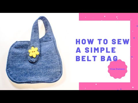 How to Make a Simple Belt Bag1